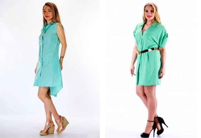8b1f372fea86 Οι νέοι fashionistas είναι επίσης δημοφιλείς για ασυνήθιστα ενδύματα denim  που γίνονται σε αυτό το χρώμα