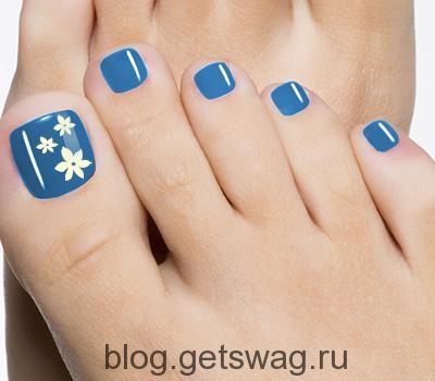 Простые Рисунки На Ногтях Пошаговое Фото
