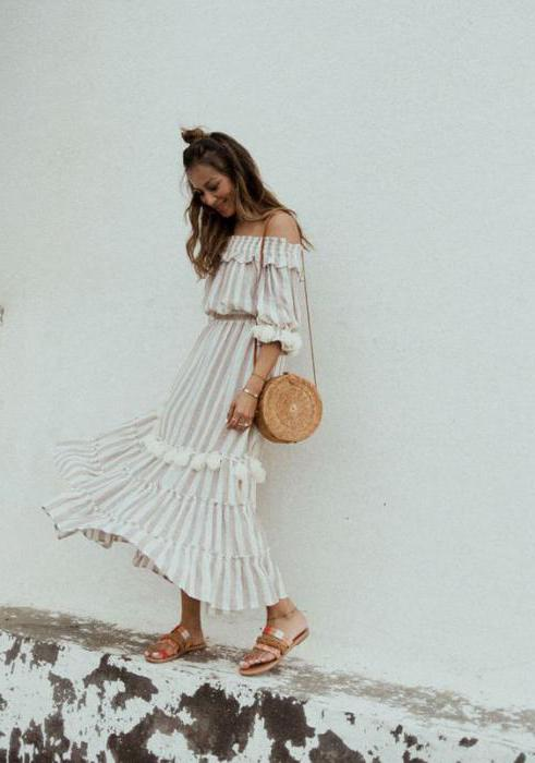 58295a77fa04 Φόρεμα με ρούχα στους ώμους σας ράβετε τον εαυτό σας. Ιδέες για ...