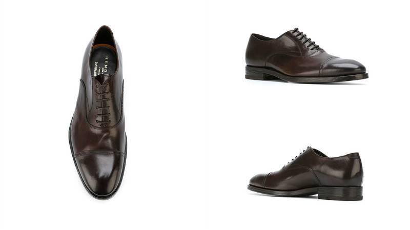 19ec8adc216d A hagyományos változat fekete klasszikus, valódi bőrből készült cipő. Az  oxford egyéb változatai azonban például vászonból vagy lakkozott bőrből  készültek.