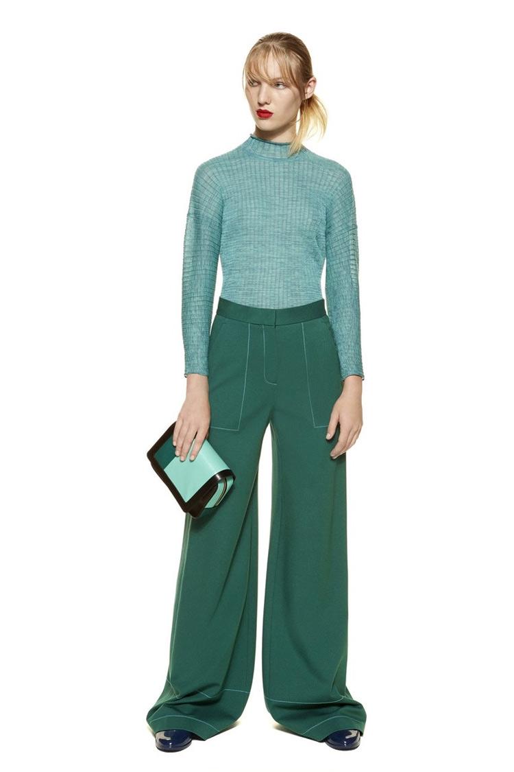 9eb356a5913 Pokud někteří designéři popularizují kalhoty na kotník