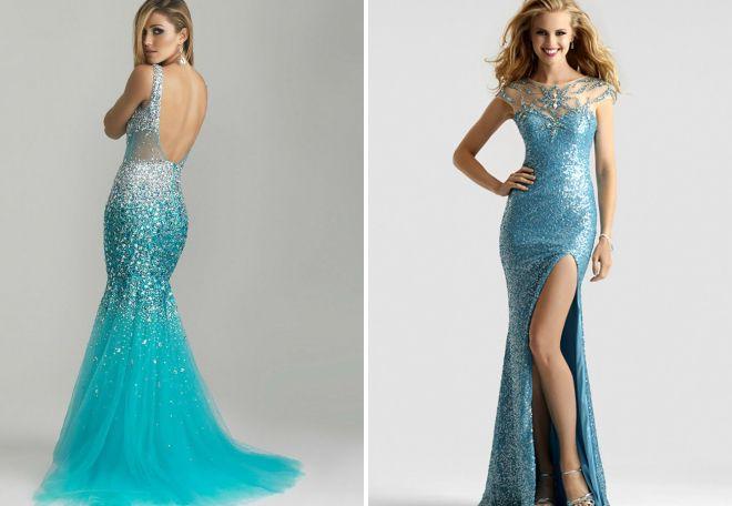 63a38d6c4c3 Бирюзовое длинное платье в пол. С чем надеть бирюзовое платье ...