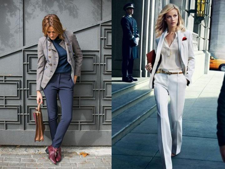 Μοντέρνα κοστούμια παντελονιού. e748a3bbb5a
