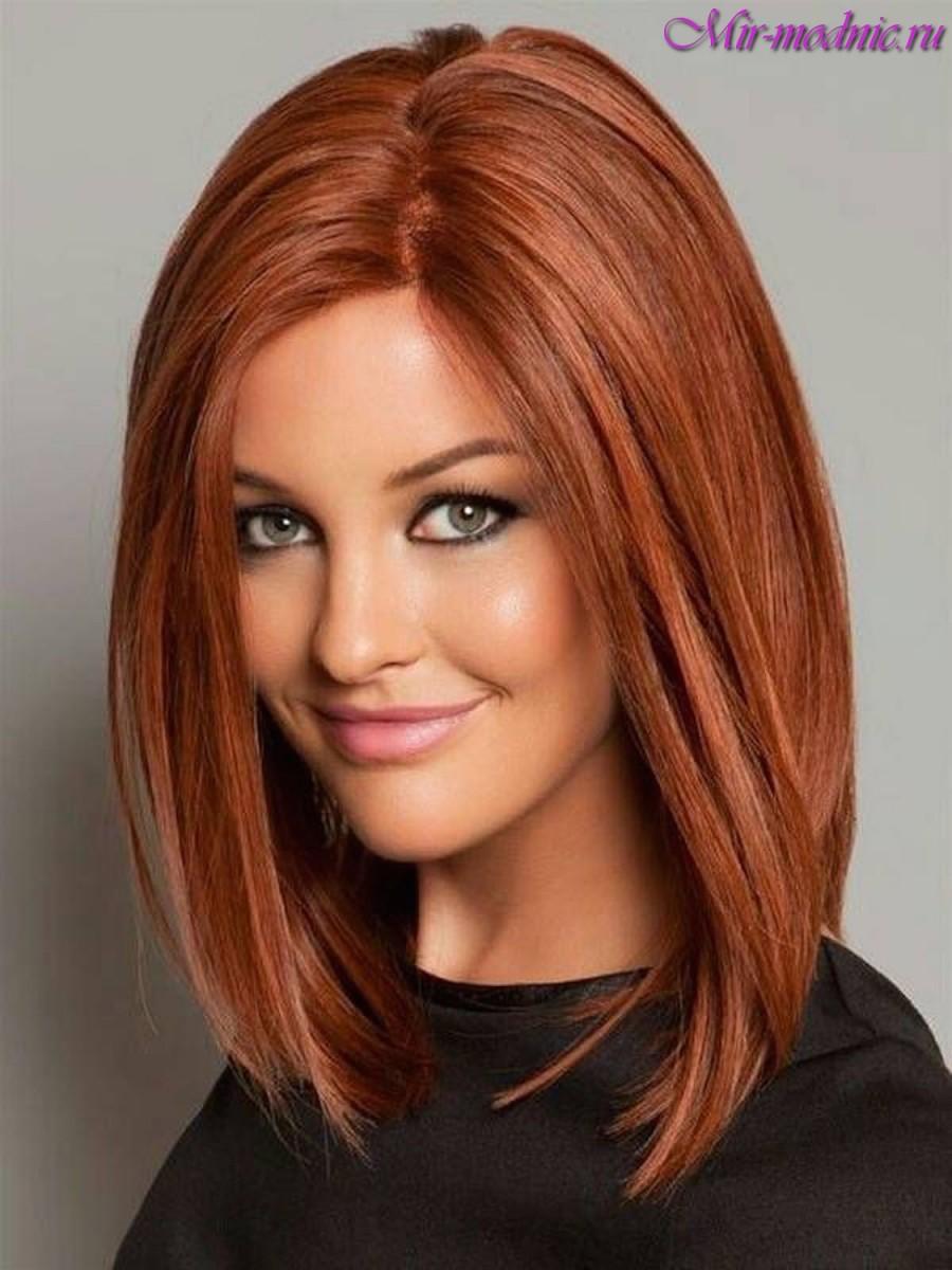 Какой цвет волос на средние волосы