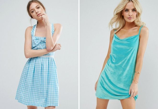 fc64a75b79f Τυρκουάζ μακρύ φόρεμα στο πάτωμα. Τι να φορέσει τυρκουάζ φόρεμα ...