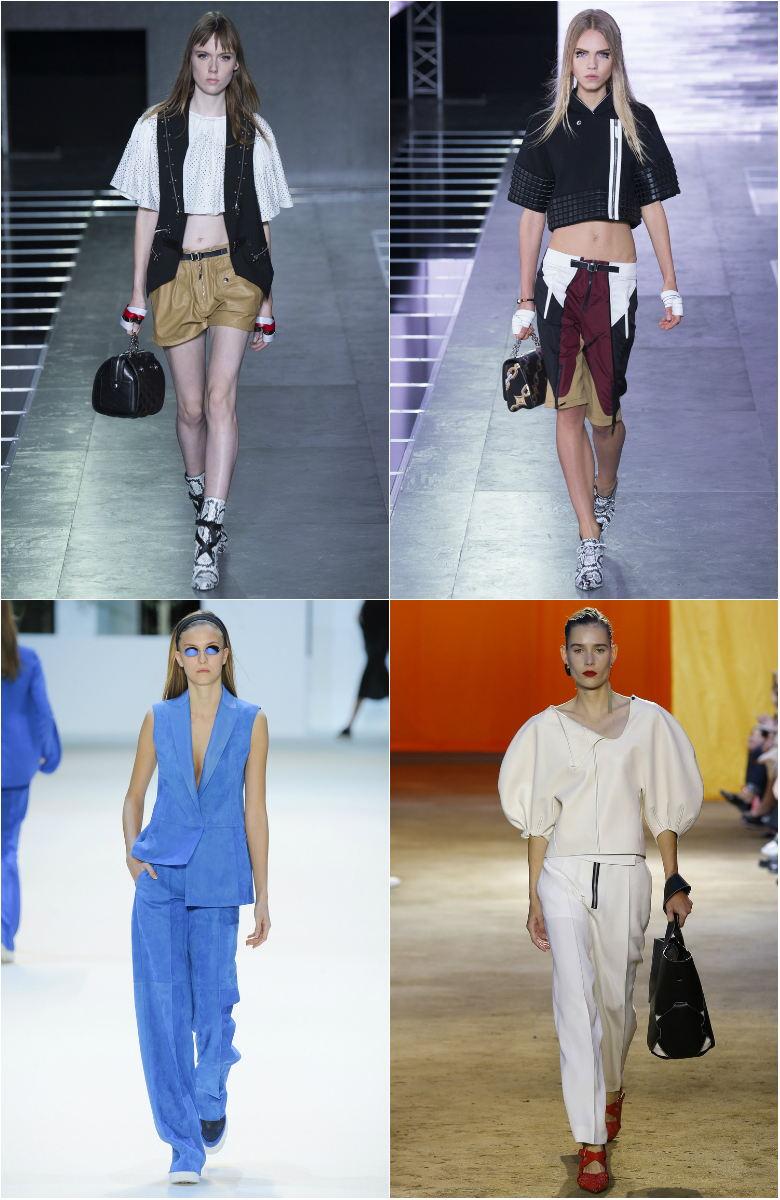 Vilka byxor är trendiga på våren. Palats breda byxor. Organza och ... 44cdaa6f3f429