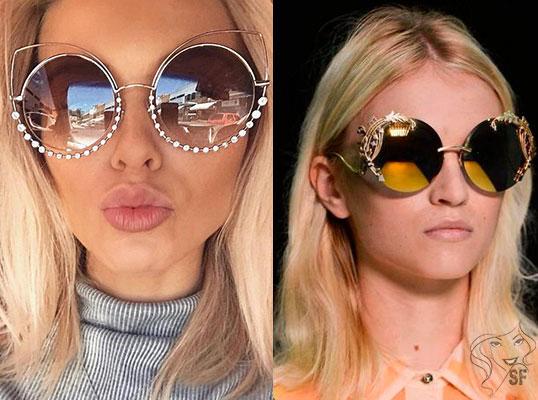 Milyen napszemüvegek divatosak az év során. Női napszemüveg. 338556e1ee