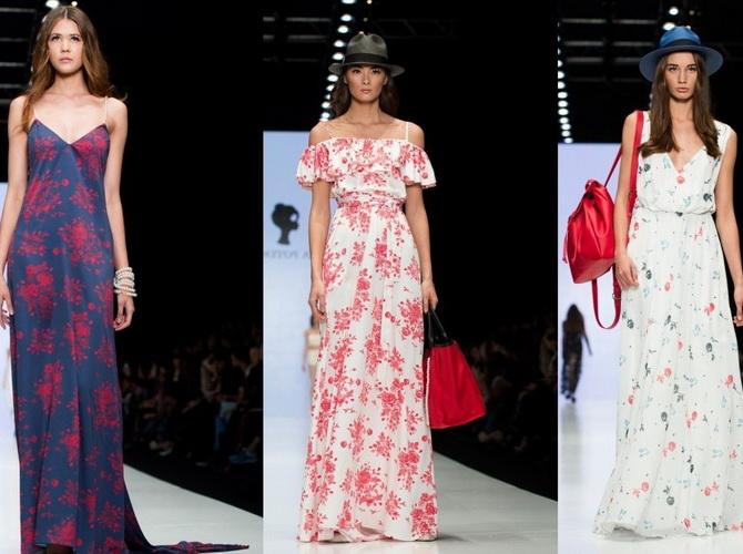Jedná se o výklad sundressových šatů pro léto roku 2017 prokázal  francouzskou značku Emanuel Ungaro 9d581d127d