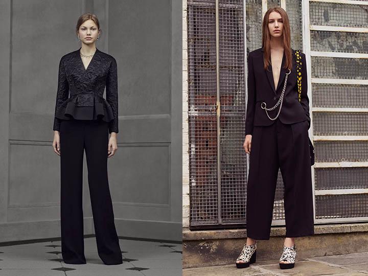 254d222a42a Το 2016-2017, διάσημοι σχεδιαστές στις συλλογές τους παρουσίασαν στο  δικαστήριο της fashionistas τεράστια επιλογή κοστούμια παντελονιού, από  λακωνικά ...