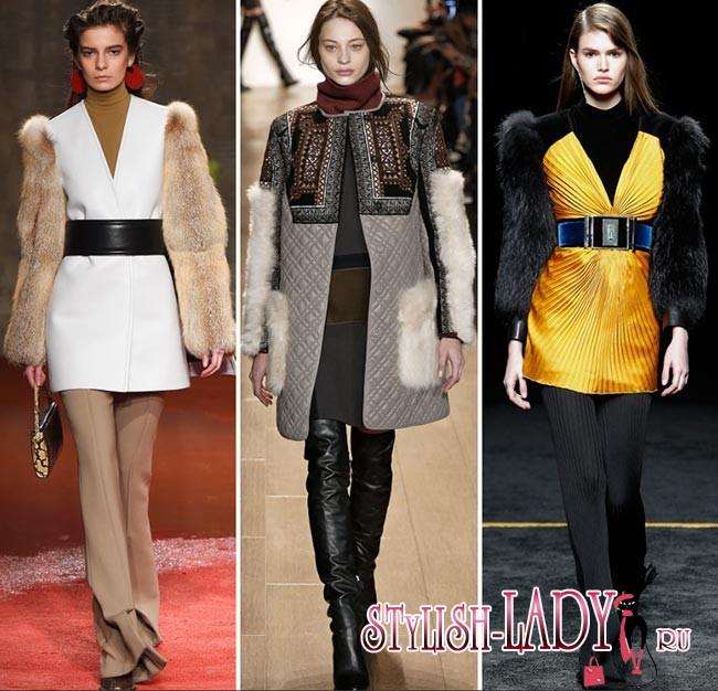 Namun penggunaan material yang paling kreatif dan tidak konvensional ini  adalah lengan bulu. Foto Style.com dan Fashionisers.com d0d497a63b