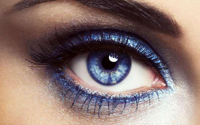 Как сделать глаза более голубыми глазами 821