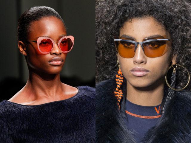 733fdc9009b6 Как видите, модный сезон осень-зима 2017-2018 богат разнообразием форм и  оттенков солнцезащитных очков. Поэтому подобрать модный аксессуар смогут  даже самые ...