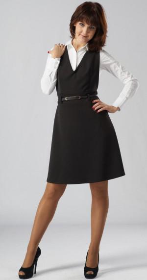 Выбор школьного платья для старшеклассницы: красота, строгость и стиль 94