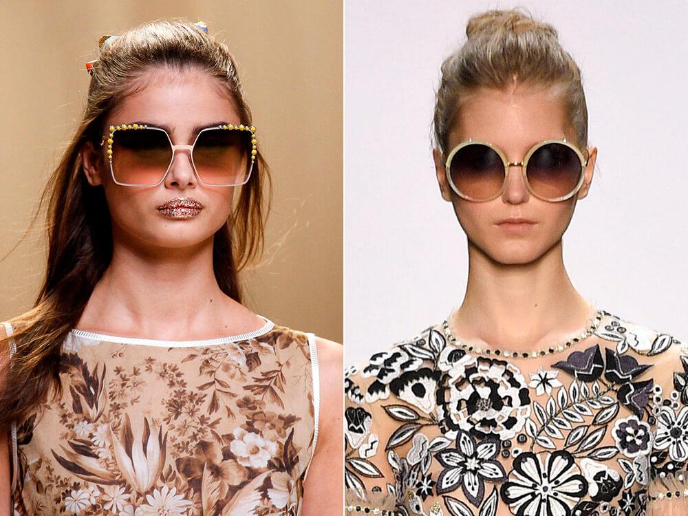 Ποια γυαλιά ηλίου βρίσκονται τώρα στην τάση. Μόδα γυαλιά ηλίου ... 486fa73c909
