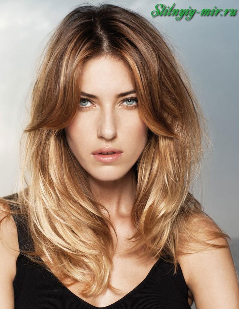Прически покраска и стрижка для длинных волос