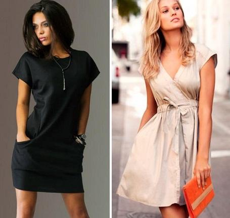 10e3464e15a Фасоны повседневных платьев. Женские платья повседневного стиля.
