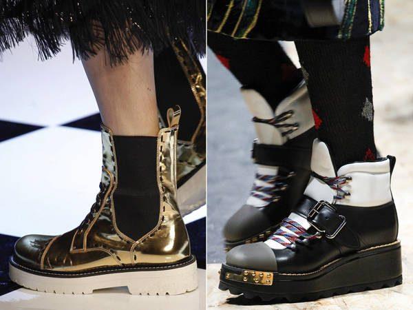14a87e62ad Μοντέρνα παπούτσια με εκτυπώσεις φθινόπωρο-χειμώνα 2016-2017