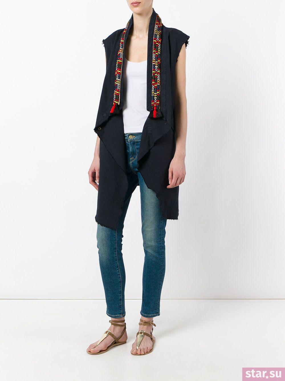 2dd7c51e9051 Με τι να φοράτε ένα επίμηκες πλεκτό γιλέκο χωρίς μανίκια
