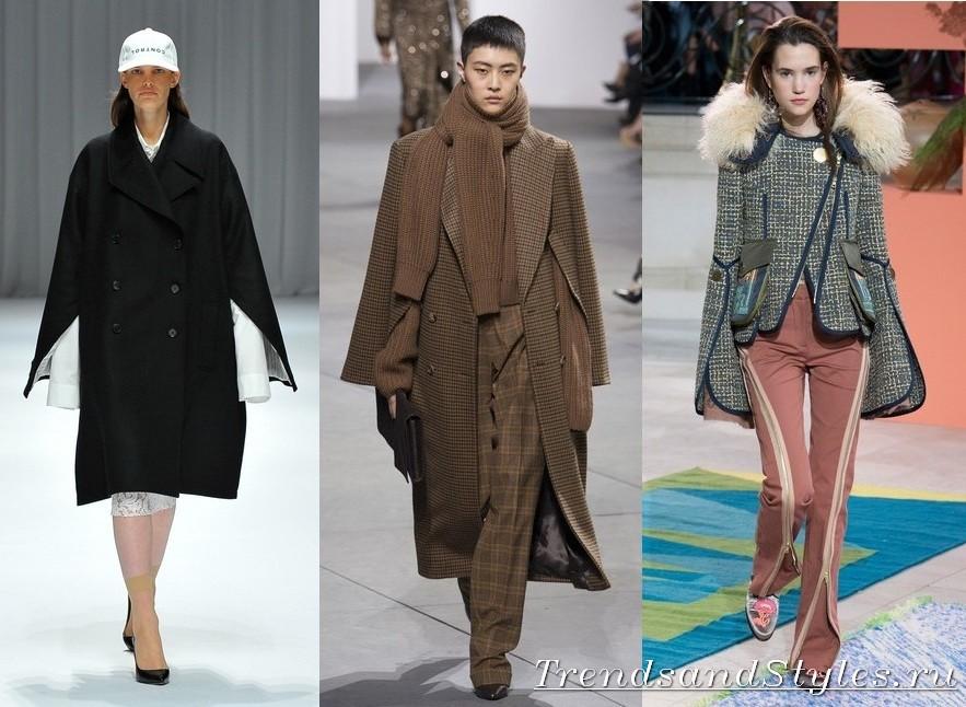 75487bd33fdb Jaký druh kabátu je nyní v módě. Klasická přímá silueta. Tvary a ...