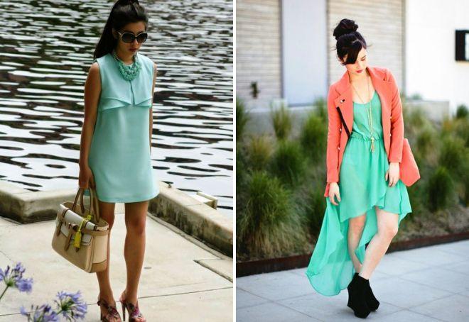 17a247a3ed1e Θυμάσαι ότι φορούσε φόρεμα με μέντα. Χρώματα