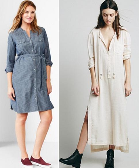 Если вы хотите такой, универсальный вариант, приобретите классическую платье -рубашку однотонной расцветки, милитари-модель в светлой или оливковой  гамме или ... 21b1bc32917