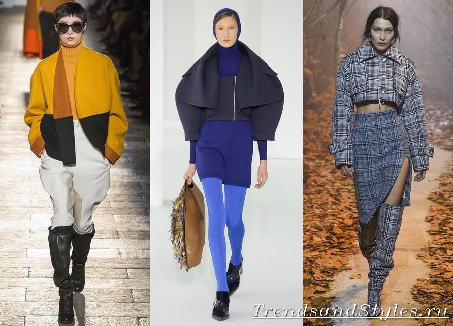 2fcaedc8ef A meleg őszi napokon a női kabát rövidített változata hasznos lesz. Ebben a  stílusban hüvelykedhet, és felhúzza a hasát, karcsú csípő.