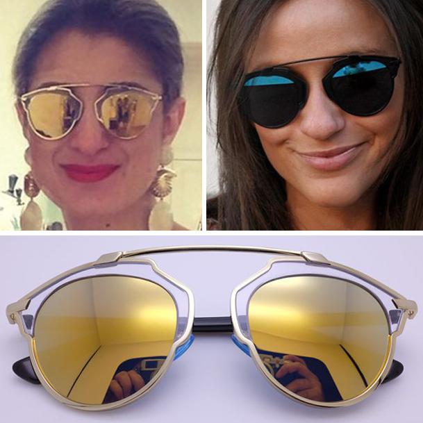 Κομψά γυαλιά ηλίου για γυναίκες. Clubmasters ή broulayners ... d4d4106e7c9