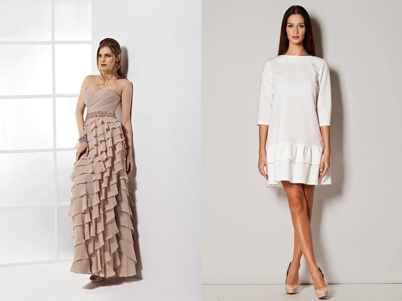e9f85fa7bb21db4 Платье с рюшами на плечах сшить самой. Идеи для полных женщин. как ...