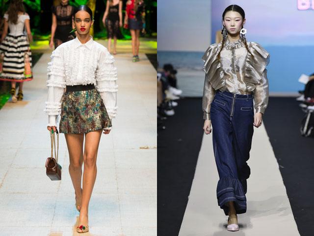 5840f6af7550 Μπλούζες μόδας σε λωρίδες άνοιξη καλοκαίρι. Χαριτωμένα σύντομα ...