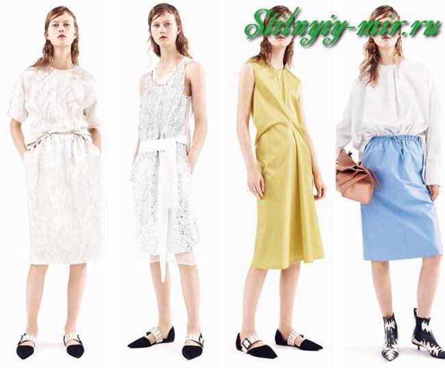 9ae8959e75cf Και τα δύο στυλ είναι μια επιλογή win-win για το καλοκαίρι σας καθημερινή  ενδυμασία. Μοντέρνο καλοκαιρινά φορέματα 2018 έχουν υφάσματα που ρέουν με  φως: ...