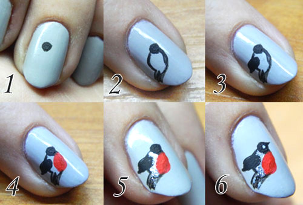Маникюры на ногтях как их рисовать