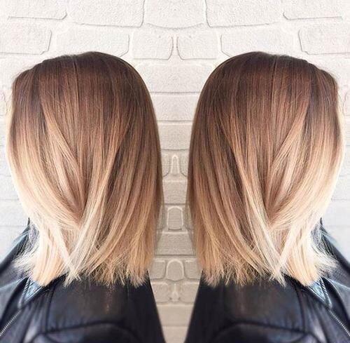 Балаяж на светлые волосы цена