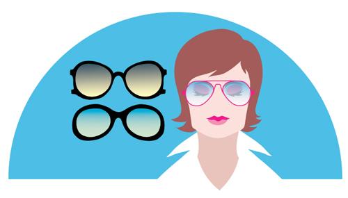 01a8e338b ما النظارات تذهب إلى كل شيء. كيفية اختيار النظارات الشمسية حسب نوع الوجه